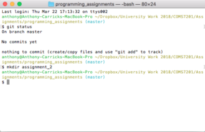 Git Bash For Mac screenshot